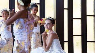 Свадьба на Бали в часовне Тараса и Анны