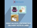 Print Invoice, Packing Slip, Delivery Note & Label Plugin for WooCommerce
