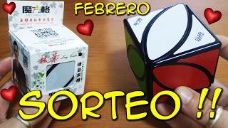 SORTEO DE CUBOS REPETIDOS - FEBRERO - IVY CUBE QIYI MOFANGGE