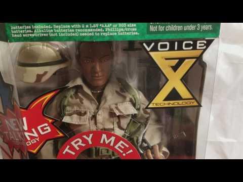 GI.JOE MARINE SQUAD LEADER FX TECHNOLOGY FIGURE REVIEW!!!!!!!