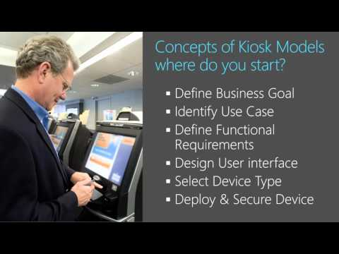 Microsoft Ignite 2015 Creating Kiosk Devices with Windows 10