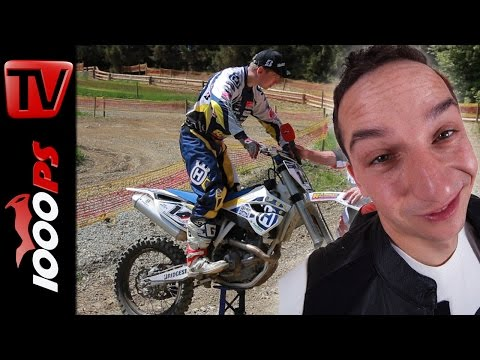 How to Motocross | Position am Motorrad | Arlo in Action mit Ossi Reisinger