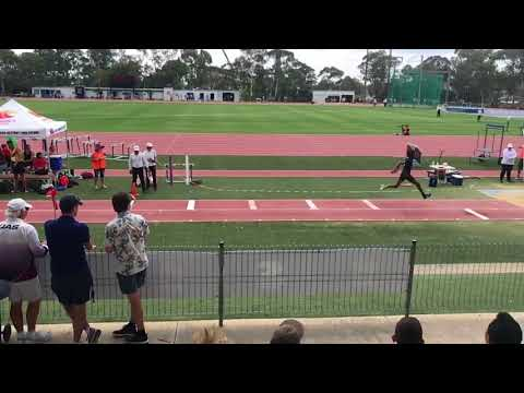16.02m TJ Canberra (ACT State Championships 2018)