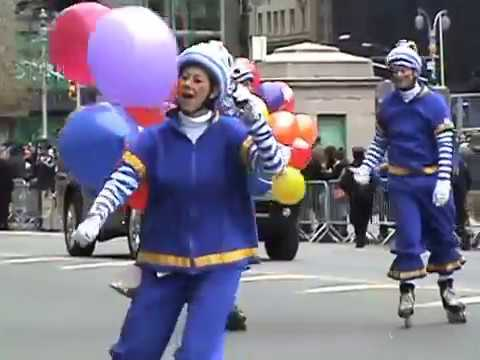 Complete Macy's Thanksgiving Day Parade 2014 New York City - Columbus Circle
