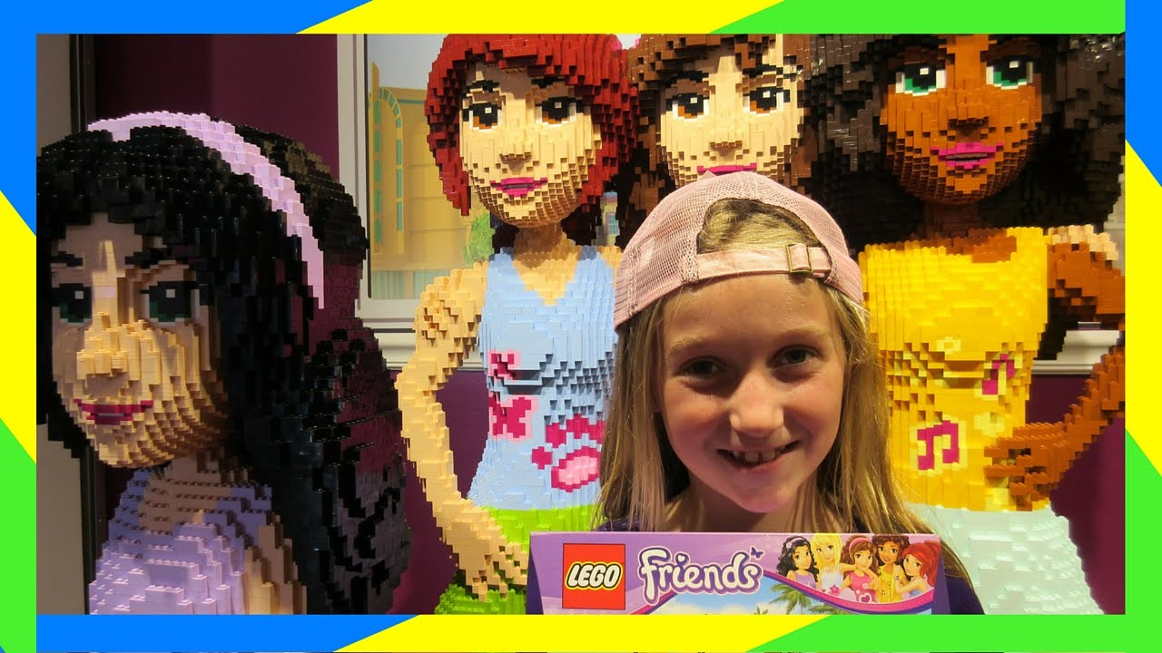 Lego Friends Toy Hunting At Legoland Park Youtube