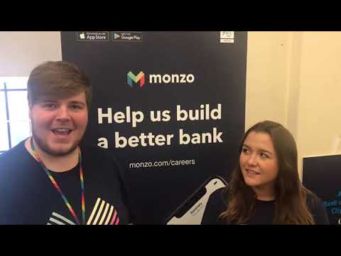 Monzo At Cardiff Jobs Fair 21/11/2018