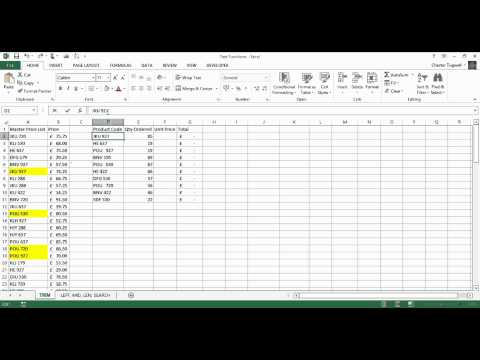 Excel TRIM & VLOOKUP: Remove Trailing and Extra Spaces in Lookup Values