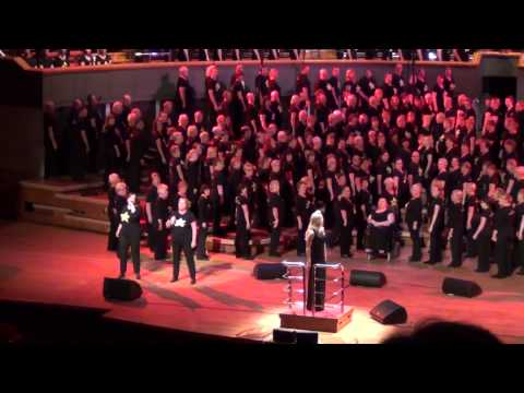 Rock Choir perform All Over The World at Symphony Hall Birmingham 19th July 2014