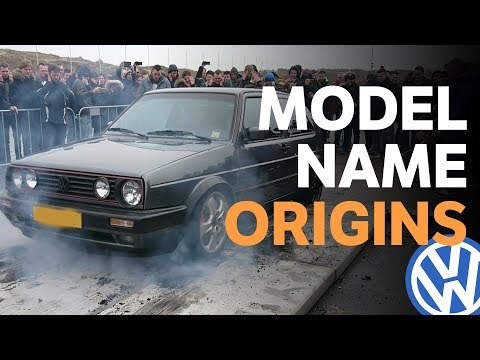 Where Do VW Model Names Come From?
