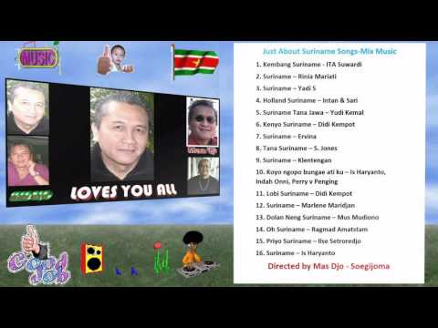All songs about Suriname Mix Jawa Artisten