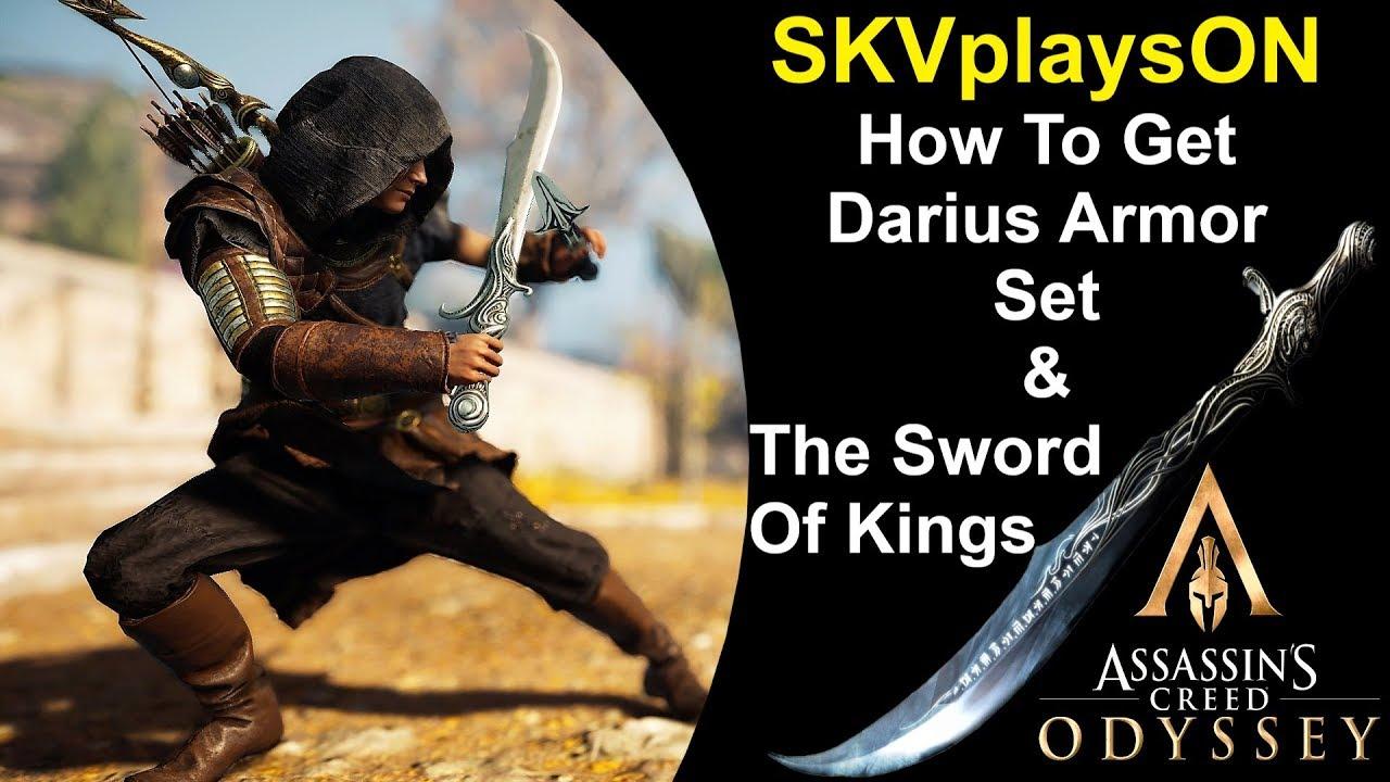 How To Get Prince Of Persia Sword Darius Armor Set Assassins
