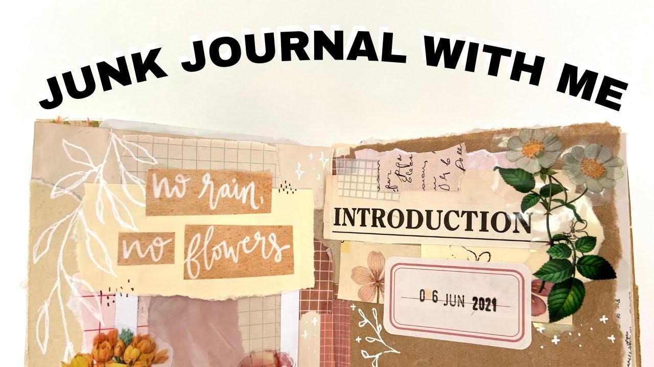 Junk Journal With Me | Learning to trust the process...