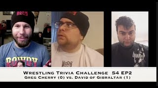 Wrestling Trivia Challenge Season 4 Episode 2: Greg vs. David