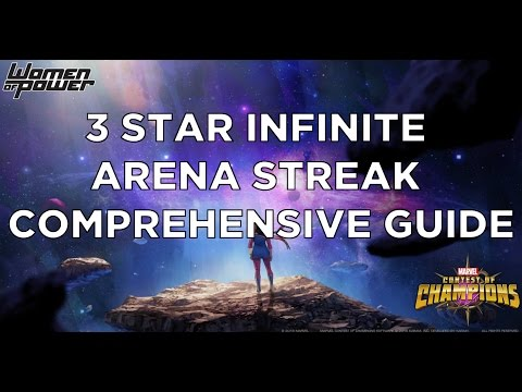 3 Star Infinite Arena Streak Comprehensive Guide - Full Run Through [Marvel Contest of Champions]