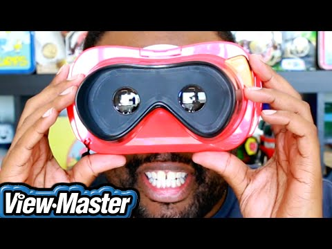 VIEW-MASTER VR UNBOXING & DEMO : Black Nerd (Awesome Stuff Week)