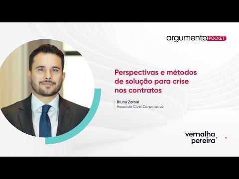 Perspectivas e métodos de solução para crise nos contratos | Argumento Pocket 09