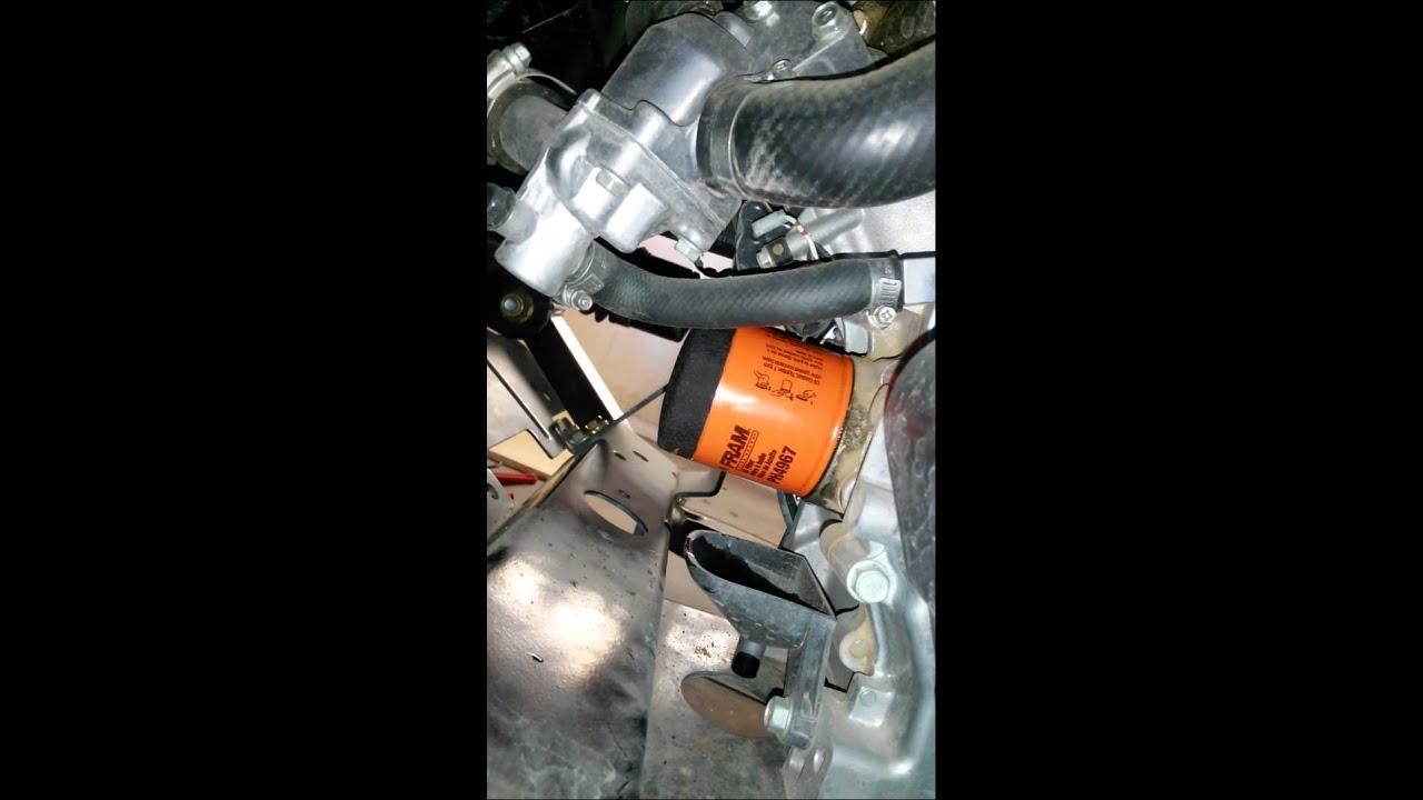 Oil Change In A 625i John Deere Gator