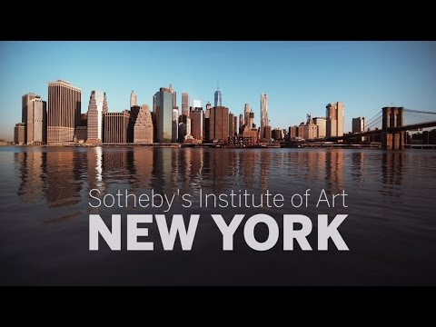 Explore the New York Art World with Sotheby's Institute of Art