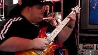 Johnny Hiland at NAMM '08