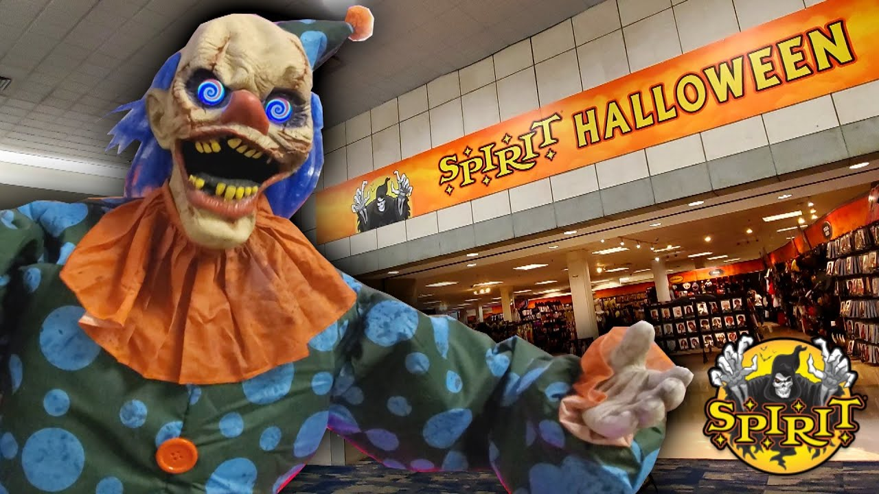 Halloween At The Mall 2020 SPIRIT HALLOWEEN 2020 at ABANDONED SEARS in ST CLAIRSVILE OHIO