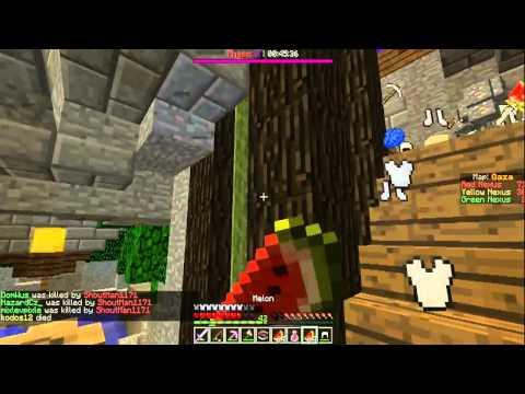Minecraft   Annihilation   #Solo strenght rush by:Dominik_LP