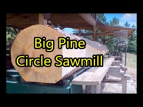 Big Pine Show Down on Circle Sawmill