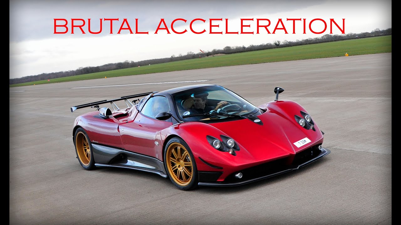 pagani zonda f brutal acceleration tyre smoking launches youtube. Black Bedroom Furniture Sets. Home Design Ideas