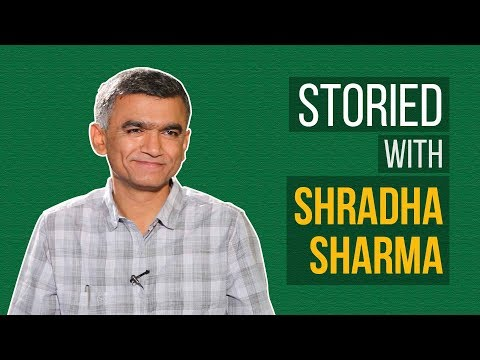 Shradha Sharma in conversation with Krishna Byre Gowda in Storied