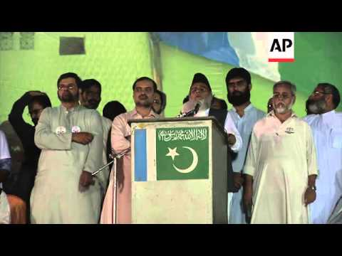 Jamaat-e-Islami holds political rally, says US has caused problems in Pakistan