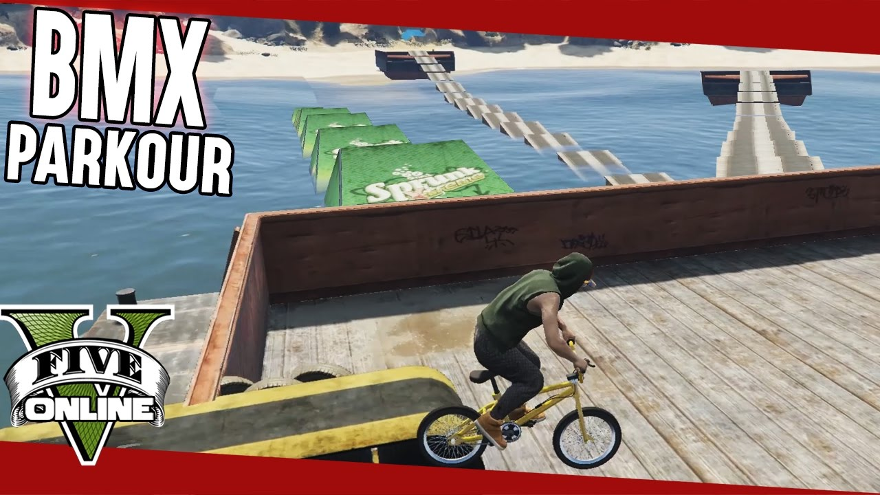 how to play parkour maps on gta 5