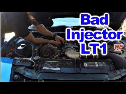 Follow up on replacing bad Fuel Injector on LT1 Trans Am