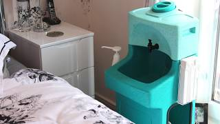WashStand portable sinks for home care