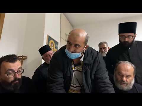 Епархијски дом у Никшићу - Покушај полиције да приведе Владику Јоаникија 12.5.2020