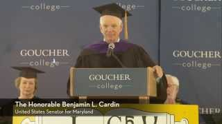Ben Cardin commencement address to Goucher class of 2014