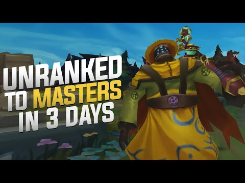 TF Blade - Unranked To Masters In 3 Days! (The Final Day!)