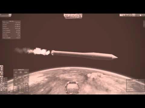 Ksputnik 1 - The first artificial Kerbin satellite (Sputnik 1)