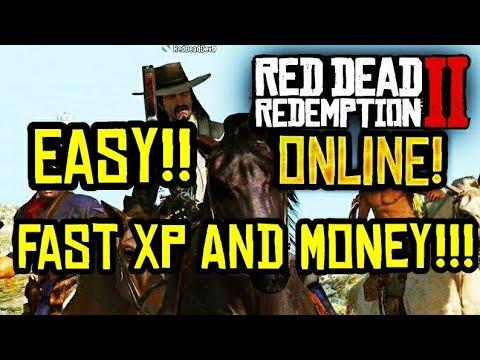 Tutorial - RED DEAD REDEMPTION 2 ONLINE - EASY MONEY MAKING TIP