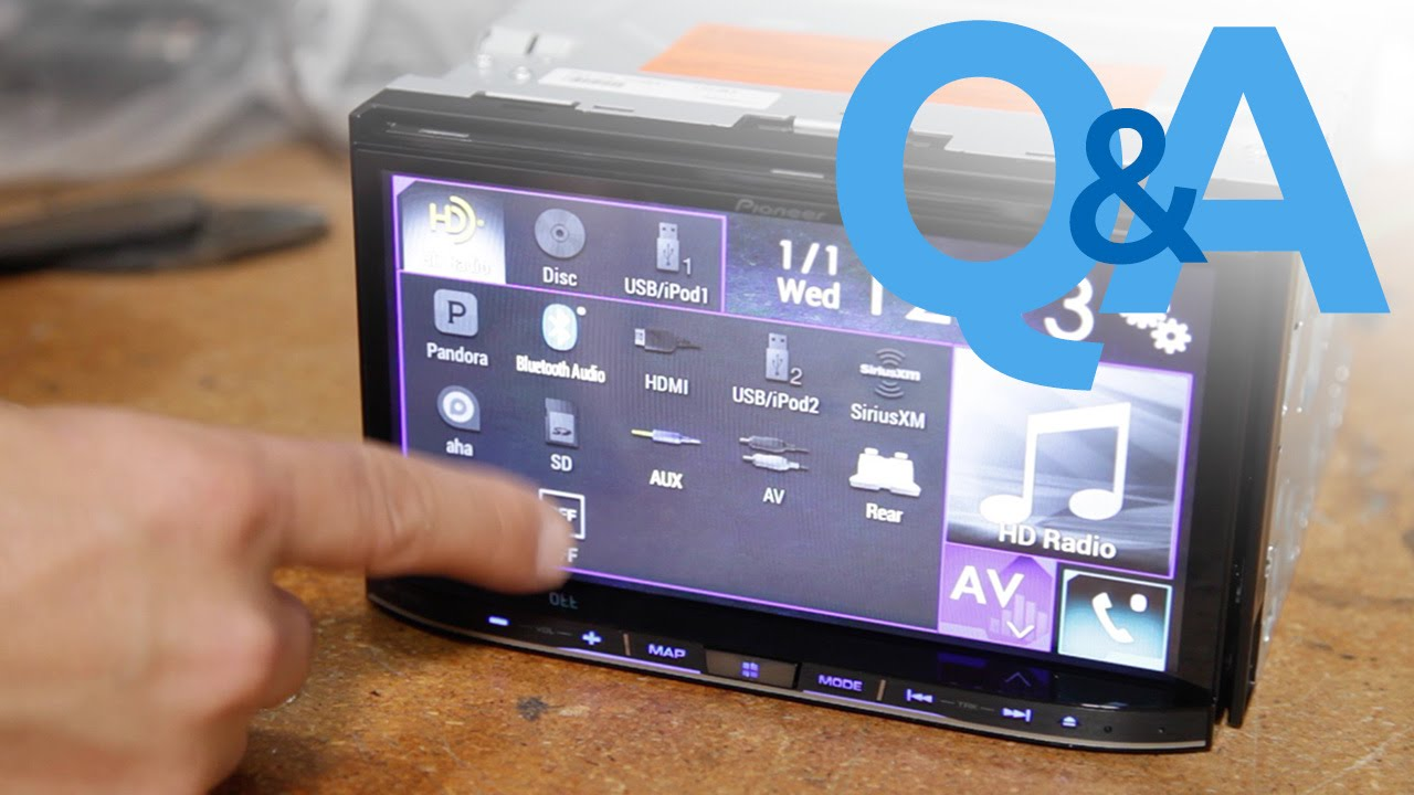 Bypassing A Pioneer NEX Headunit | Car Audio Q&A