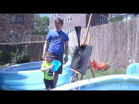 Daddy Engineer: Solar Pool Heaters | Design Squad
