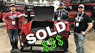 SOLD! Rotor SMOKER brings BIG $$$ | U.S. Custom Harvesters Convention