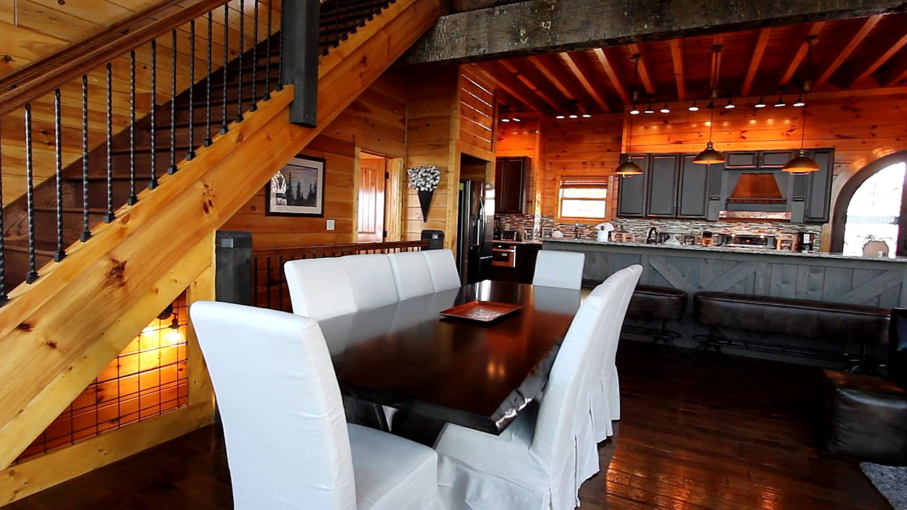 Quot Copper Ridge Lodge Quot Luxury 6 Bedroom Cabin Overlooking