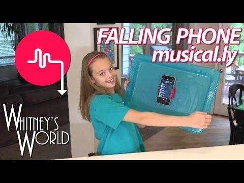 Falling Phone Musical.ly | Whitney Bjerken