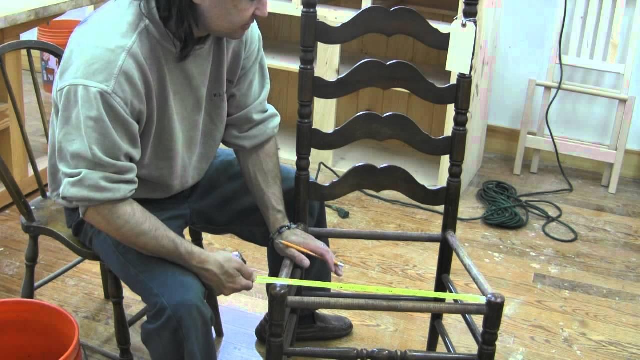 Fiber Rush Chair Weave pt1  YouTube