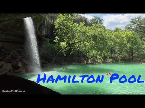 Experience Hamilton Pool Waterfall near Austin, Texas - June 2016