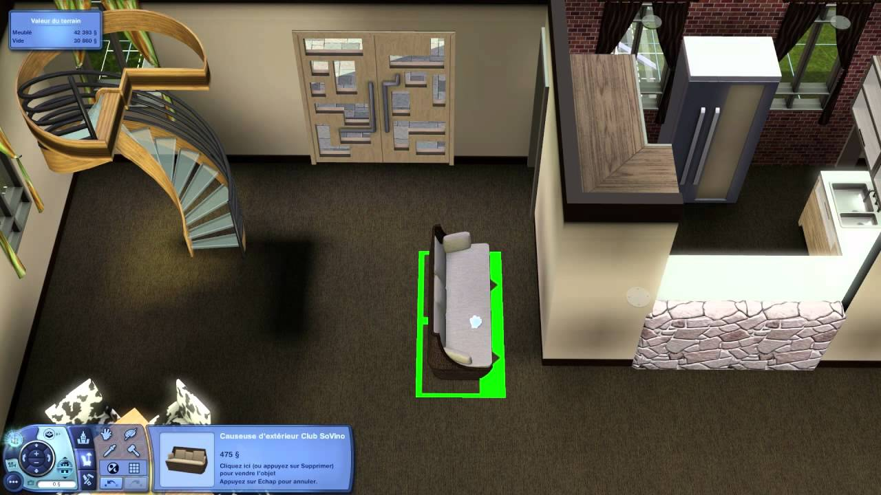 les sims 3 vie citadine vid o 3 partie 2 4 hd youtube. Black Bedroom Furniture Sets. Home Design Ideas