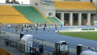 Легкоатлеты Караганды на соревнованиях в Алматы