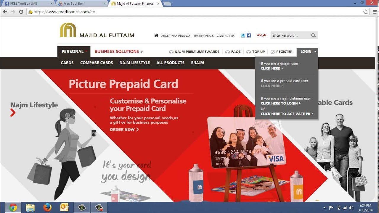 how to load funds to your ftb e wallet using maf prepaid cards - Load Prepaid Card Online