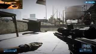 [How To] Play Battlefield 3 (PC) With PC or PS2 USB Controller Tutorial!