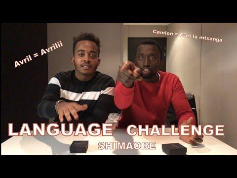 LANGUAGE CHALLENGE : SHIMAORE