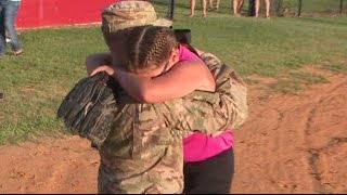 Best Surprise Military Homecomings Compilation 2015 #3